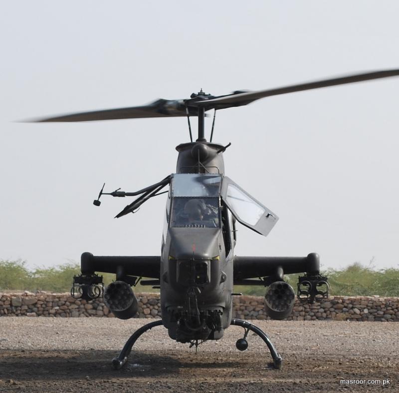 Pakistani AH-1F Cobra Gunship Helicopter-II | Pakistan ...
