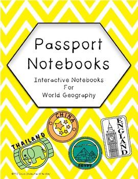 Passport Notebook Templates