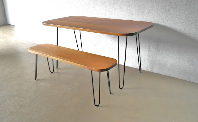 Second Charm INDUSTRIAL FURNITURE II DINING TABLE