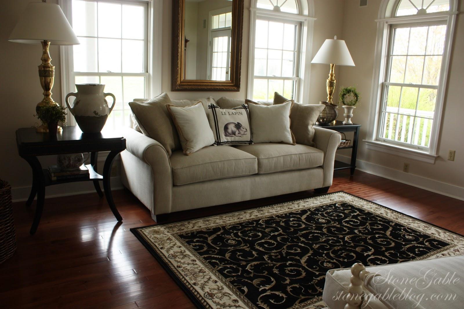 Living room update stonegable for Living room updates