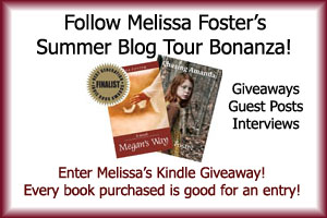 melisa foster book tour button