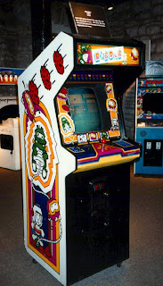 Dig Dug Arcade Cabinet