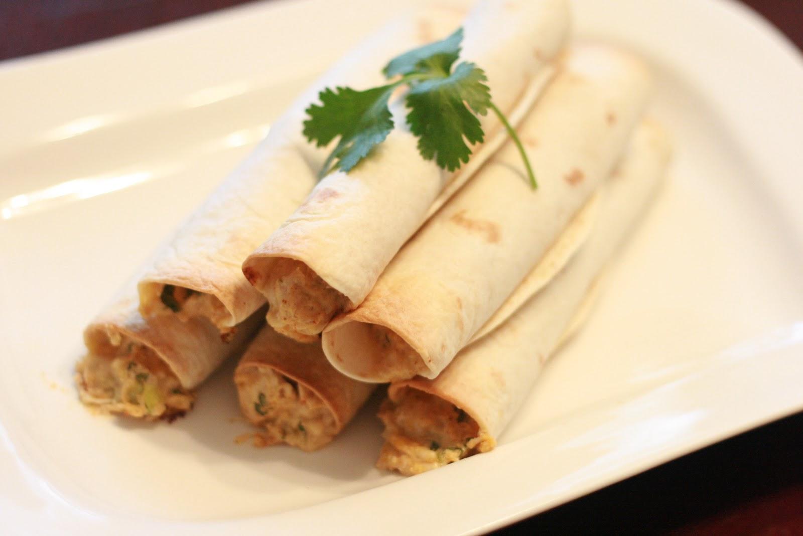 Fabulous Foods!: Creamy Chicken Taquitos