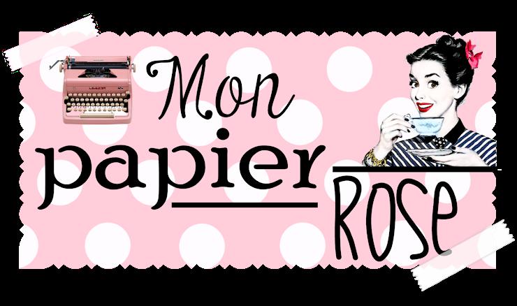 Mon papier rose
