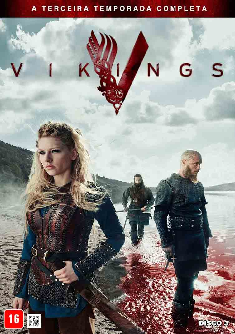 Vikings 3ª Temporada Torrent - BluRay 720p e 1080p Dual Áudio (2015)