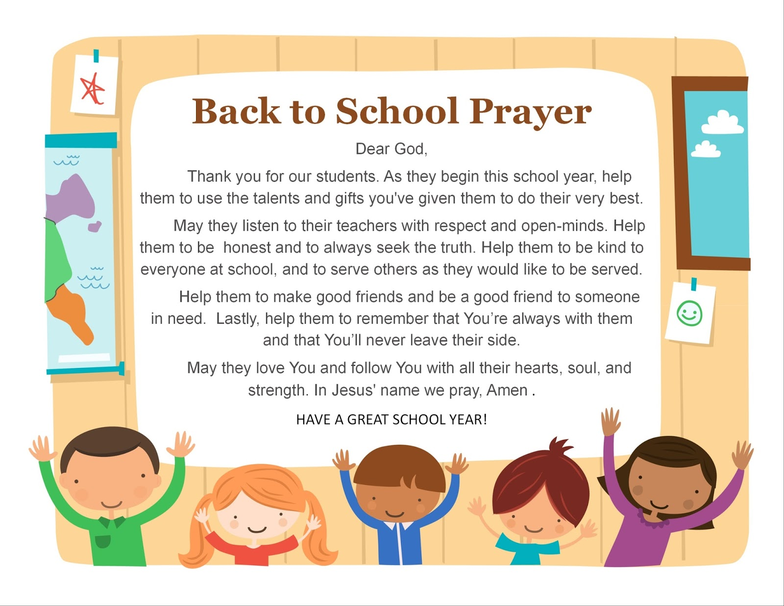 St. Clare of Assisi School: Back to School Prayer