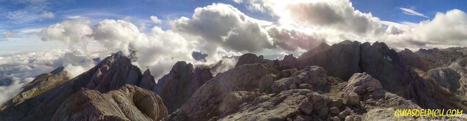 Fernando Calvo Guia de alta montaña . escaladas y ascensiones en los Picos de Europa