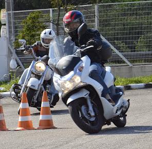 Scooter e Custom, Curso para todos os tipos de motos.