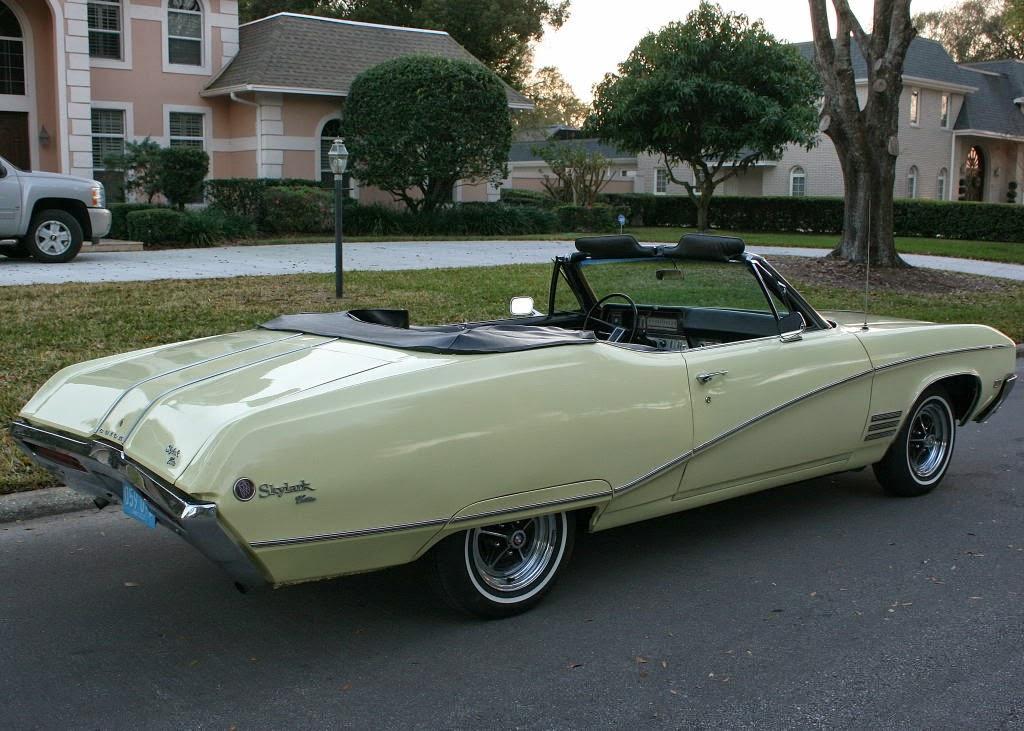 All american classic cars 1968 buick skylark custom 2 for Classic american convertibles