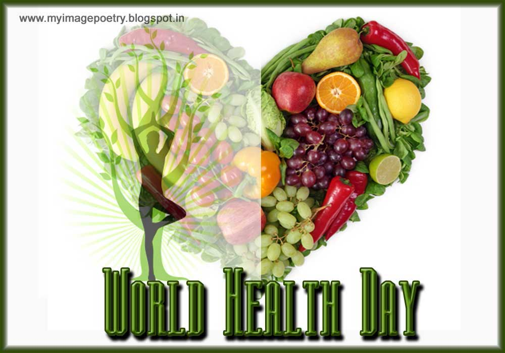 World health day poster image