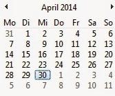 Am 30. April das erste Treffen