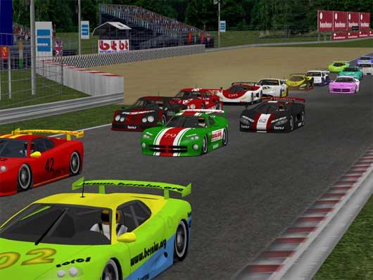 Full Modifiyeli Araba Yarışı Yeni