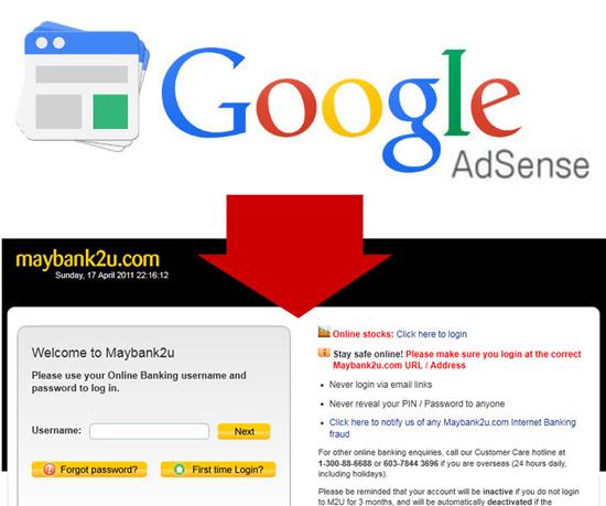 Cara Keluarkan Income Adsense Automatik ke Akaun Bank