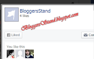 Add Facebook Popup Widget With Time & Light Box Effect for blogger
