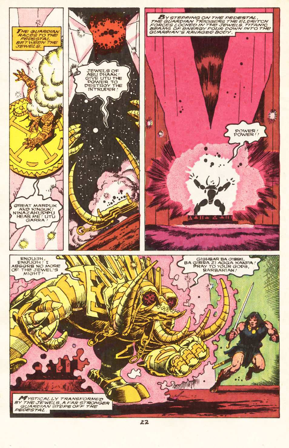 Conan the Barbarian (1970) Issue #217 #229 - English 18