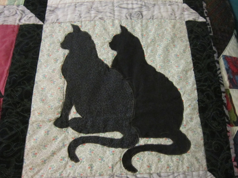 Missy's Homemaking Adventures: Feline Friday - cat quilt : quilting cats - Adamdwight.com