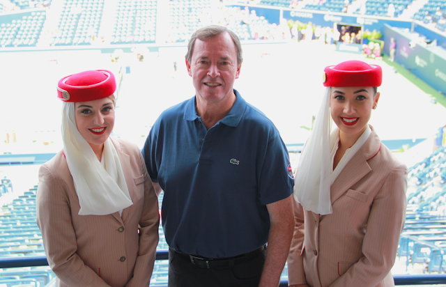 Rogers Cup Semi-Finals Match With Emirates Airline Don McWilliam