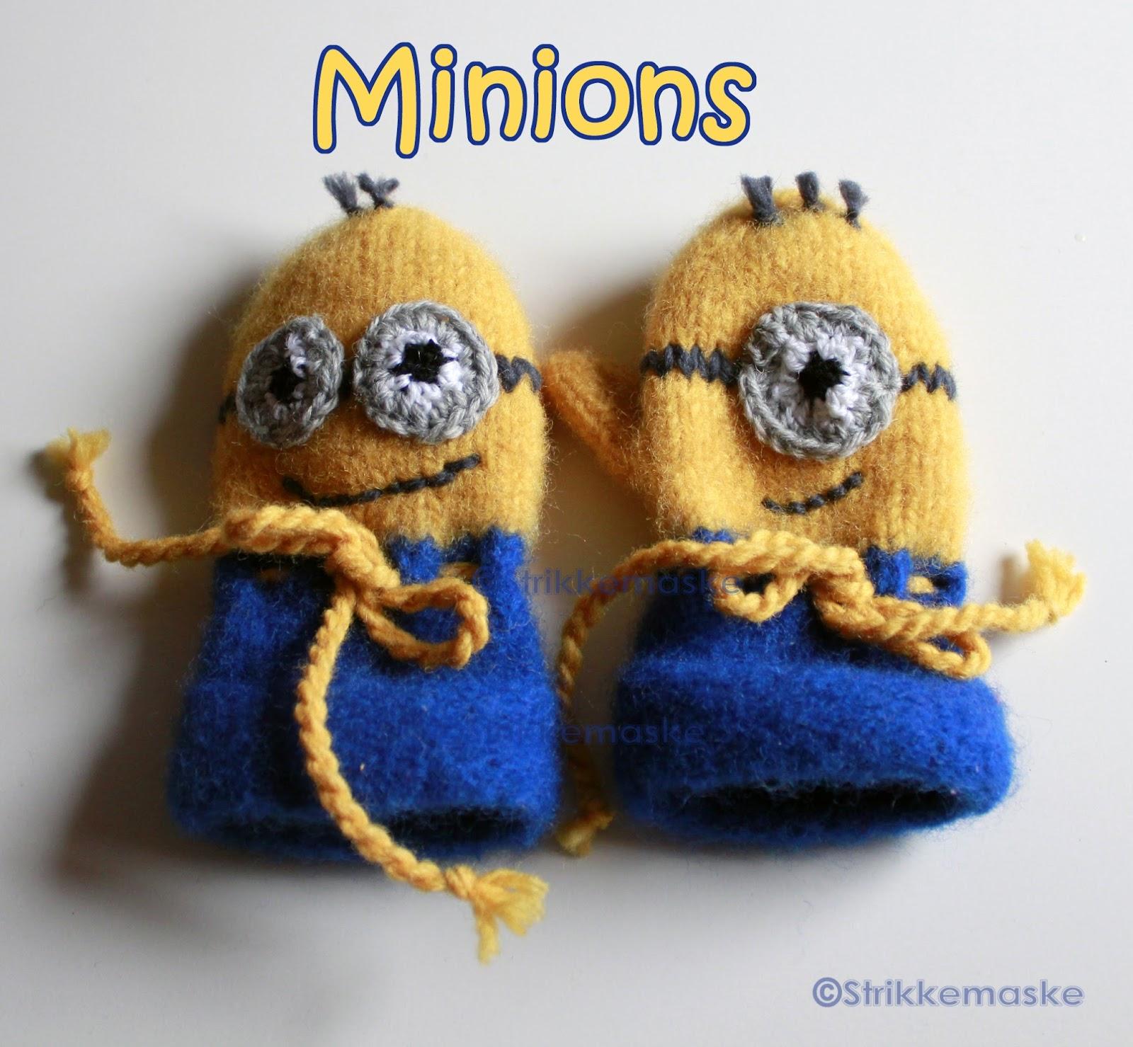 Minions tova barnevotter