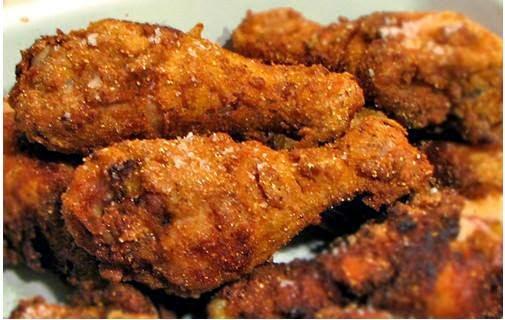 fusi di pollo fritti