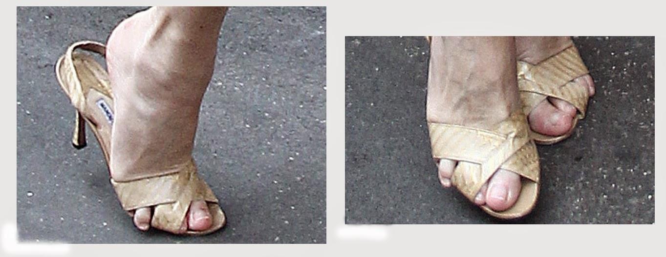Anna Wintour sandals