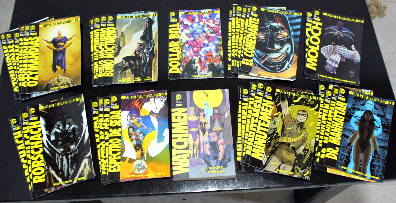 Colección Completa de Antes de Watchmen