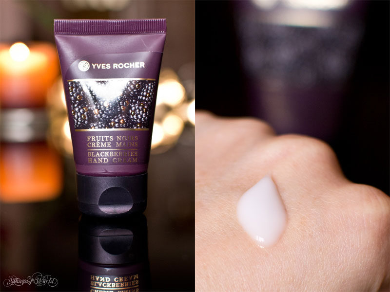 Yves Rocher Blackberries Hand Cream