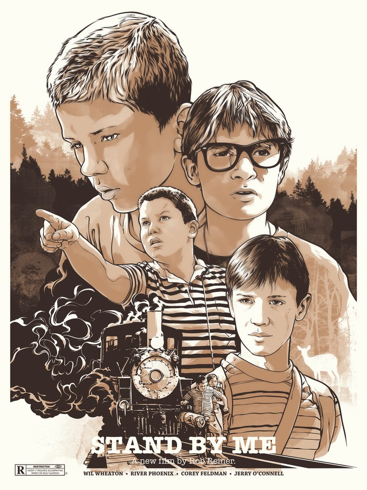 Stand By Me Screen Print by Joshua Budich