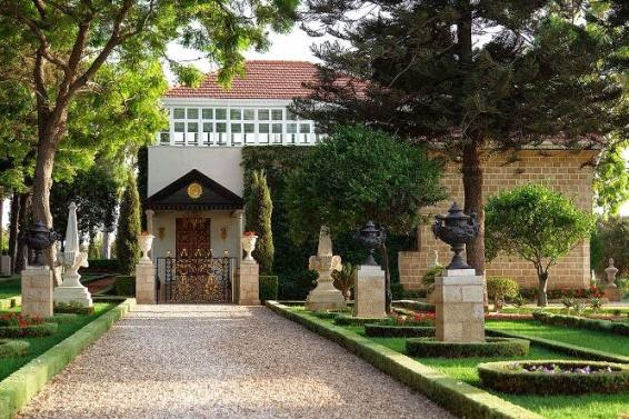 Mazbah Bahá'u'lláh di Taman Bahá'í, Acre (Wikipedia)