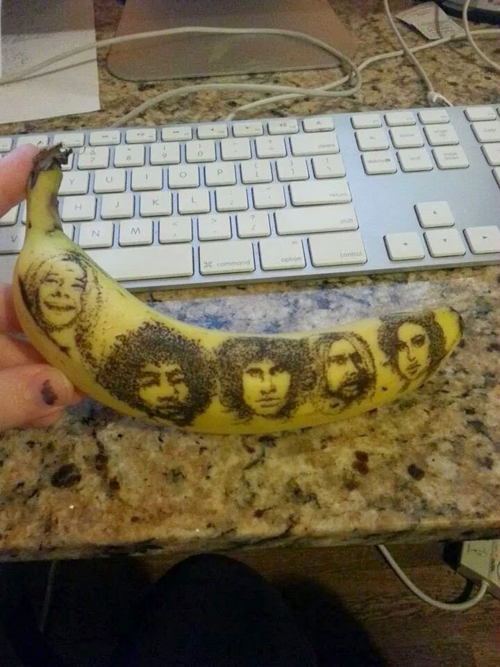 banana faces