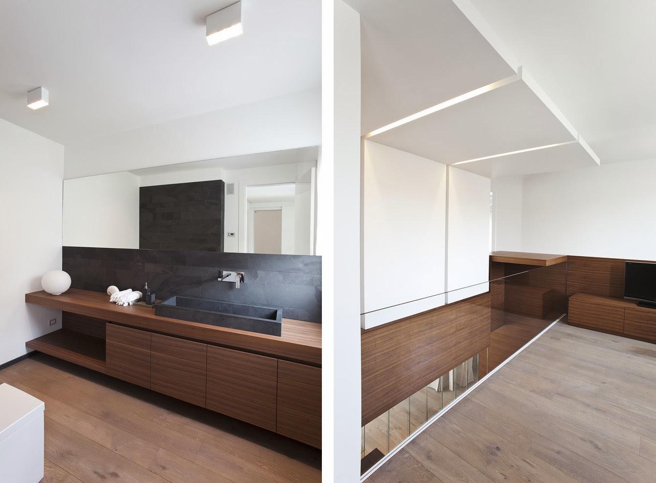 Muebles a medida en madera de zebrano espacios en madera - Muebles de madera a medida ...