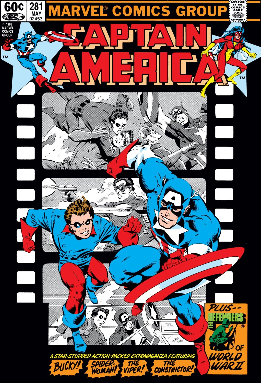 Captain America (1968) Issue #281 #197 - English 1