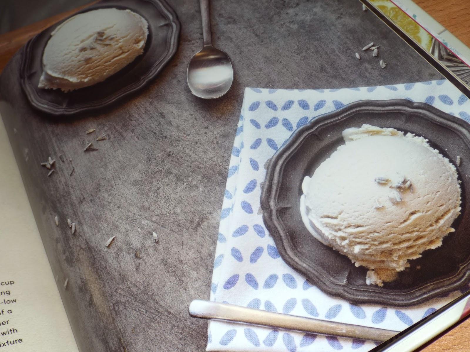 Lavender-Earl Grey Ice Cream