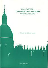 """Plan Pastoral Diocesano 2018-19 """"La alegría de la santidad"""""""