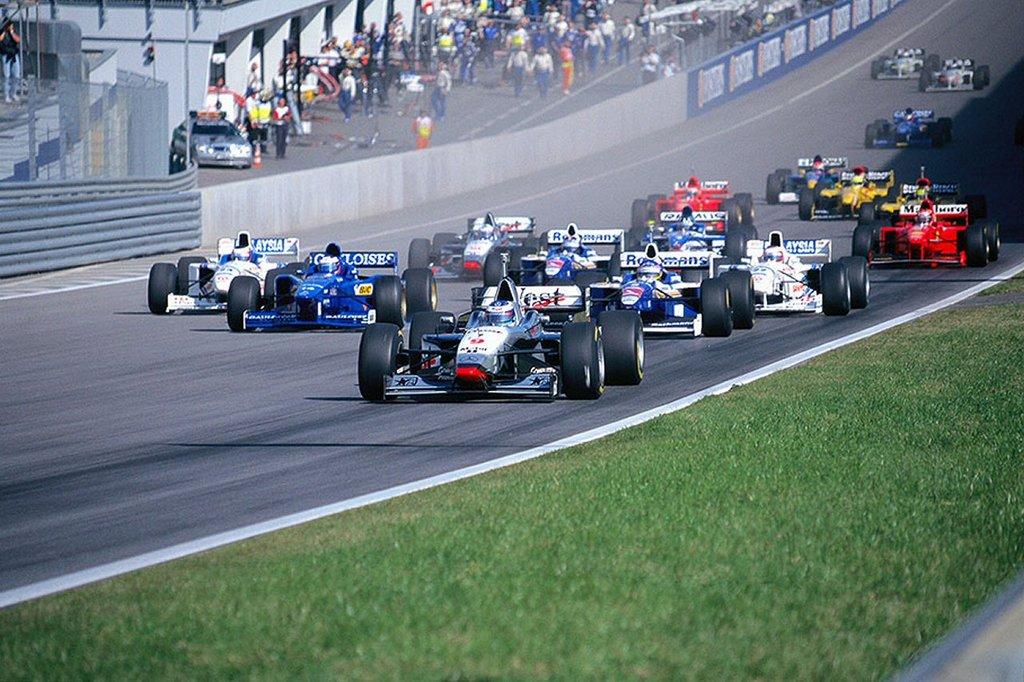 GP da Austria de Formula 1, Spielberg em 1997 - by blogdoboueri.blogspot.com