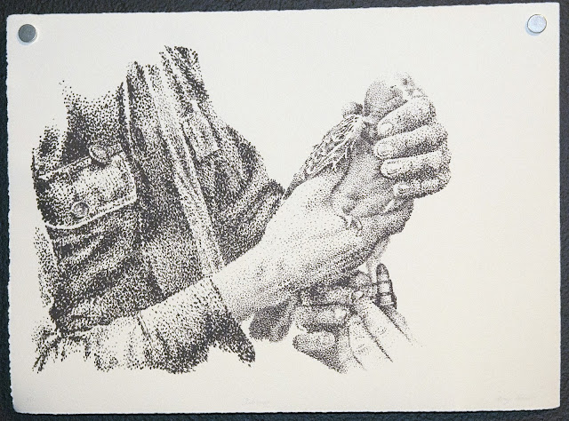 Silkscreen, Stipple
