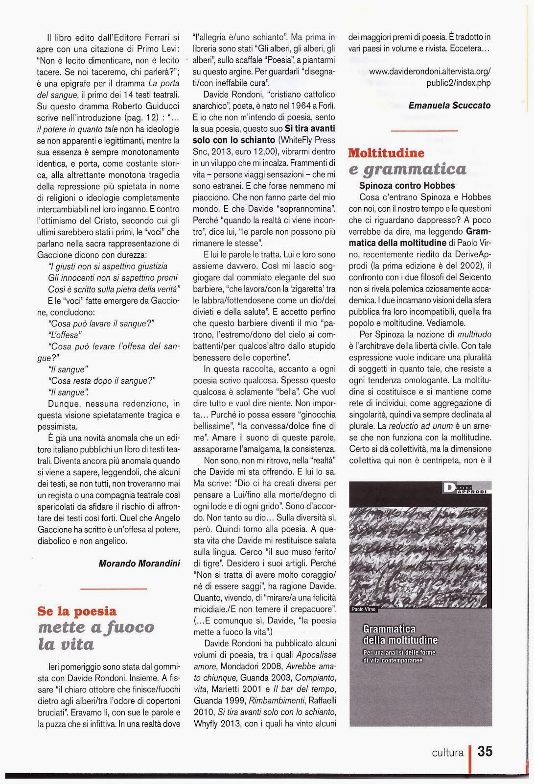 Rivista A Maggio 2014 (pag. seguente)