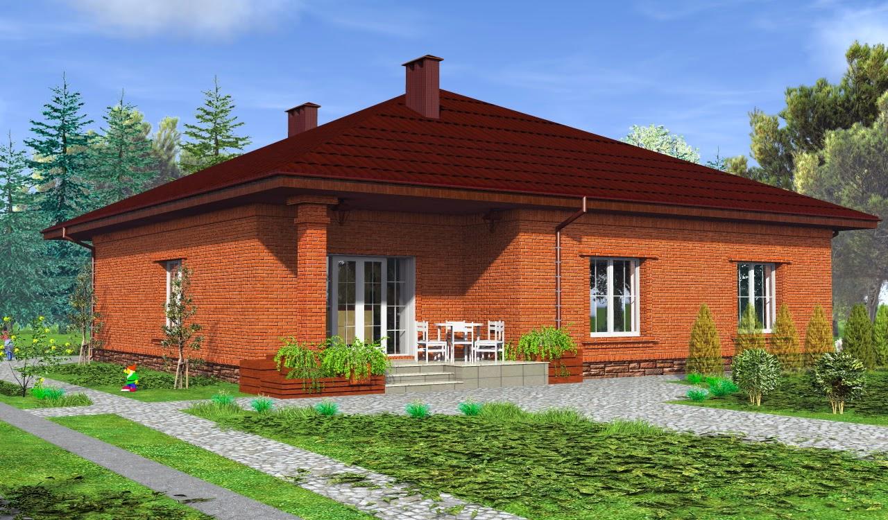 Готовый проект жилой дом с эркером