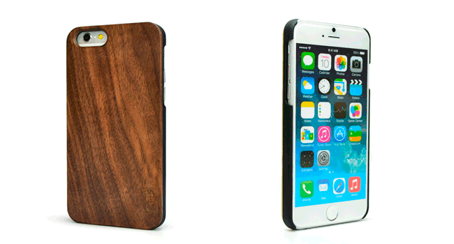 tmbrwood Walnut Wood Case iphone 6