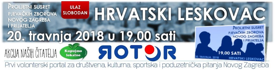 Rotor - prvi volonterski portal Novog Zagreba