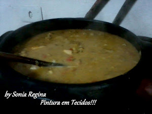 Sopa de Grão de Bico com Frango...