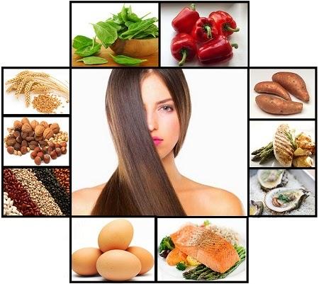 alimentos de beleza para cabelo pele corpo e unhas