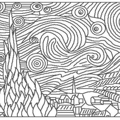 Maestra girasole ottobre 2012 for Disegni da colorare di van gogh