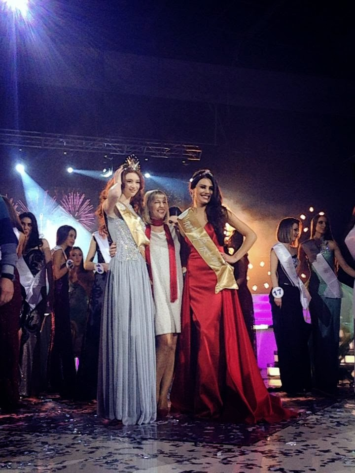 Miss Georgia მის საქართველო 2014 winner Anna Zubashvili