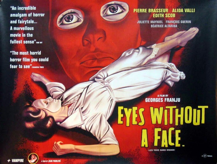 A Vintage Nerd, Vintage Blog, Classic Film Blog, Classic Suspense Movies, Old Hollywood Blog, Eyes Without A Face