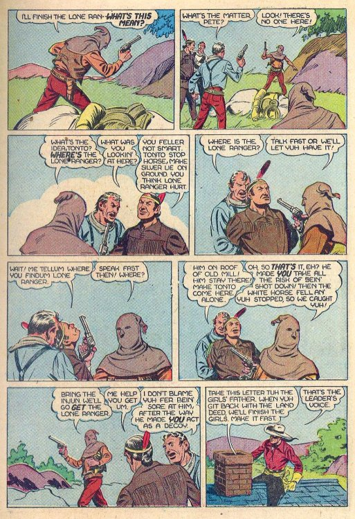 This Tale From Dells Four Color Comics 167 1947 Was Written By Lone Ranger Co Creator Fran Striker And Illustrated Charles Flanders