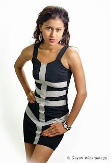 sri lanka Model Chathu Paba Dilhara