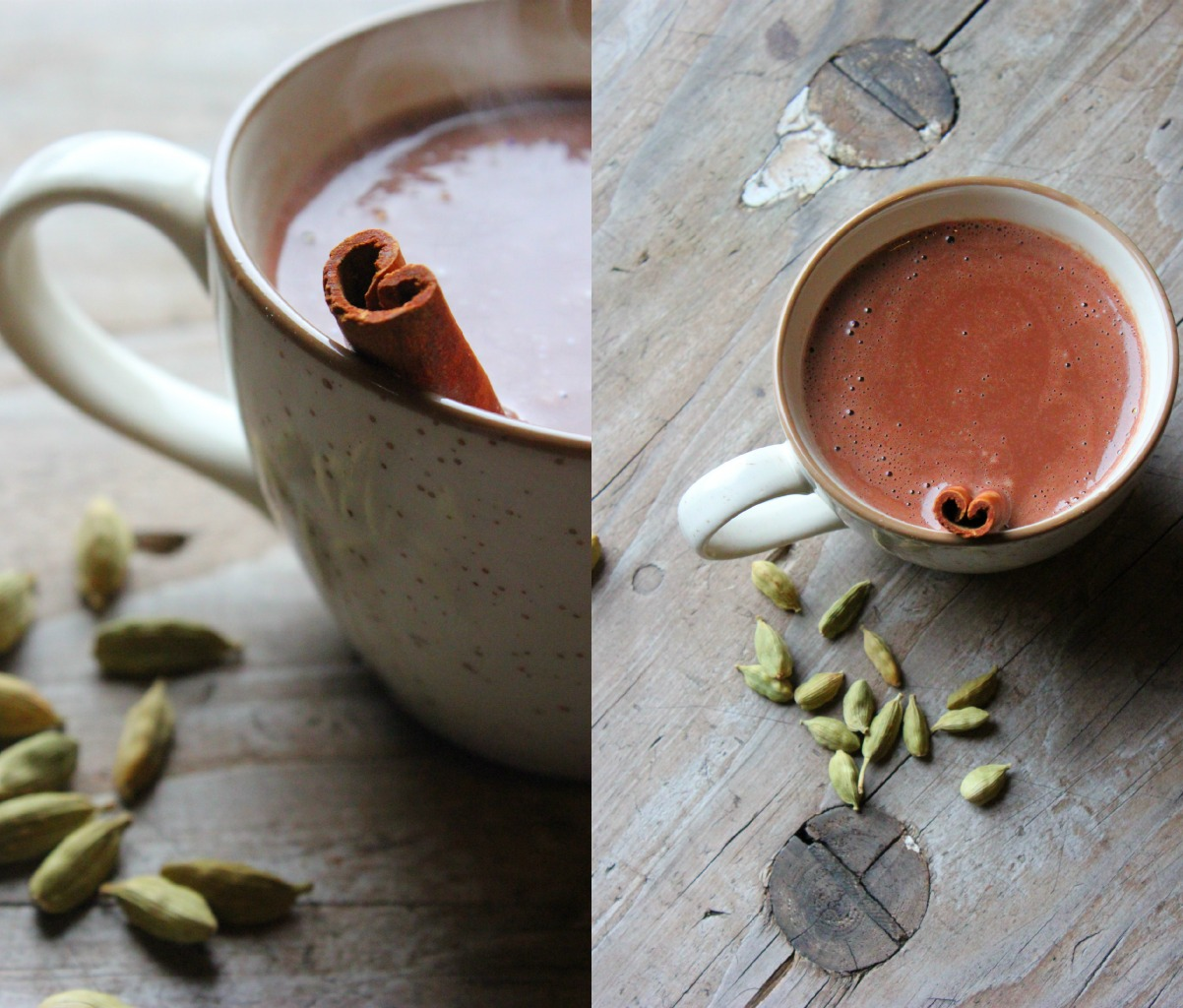 Chai Spiced Hot Chocolate | happy hearted kitchen