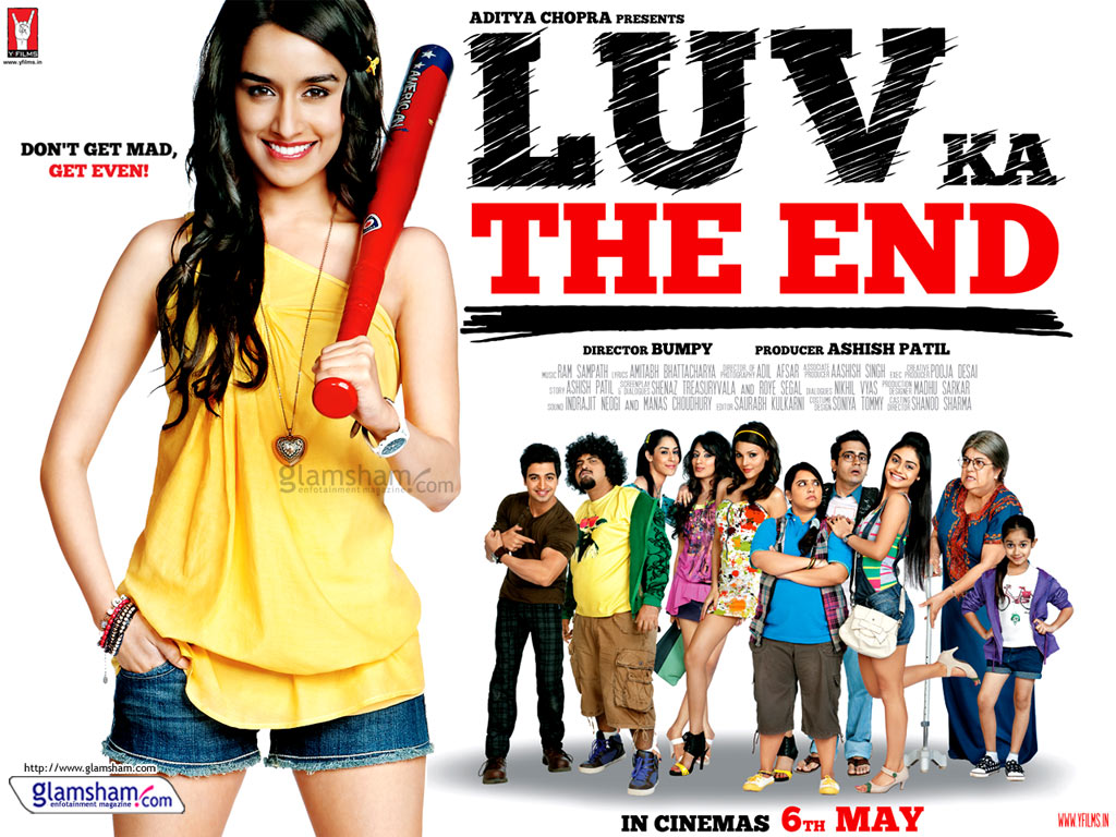 Luv Ka The End 2011 Movie Wallpapers cute Girls celebrity Wallpaper
