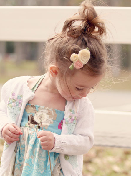 hairstyles for very long hair : Toddler Hairstyles: Loopy Pigtails