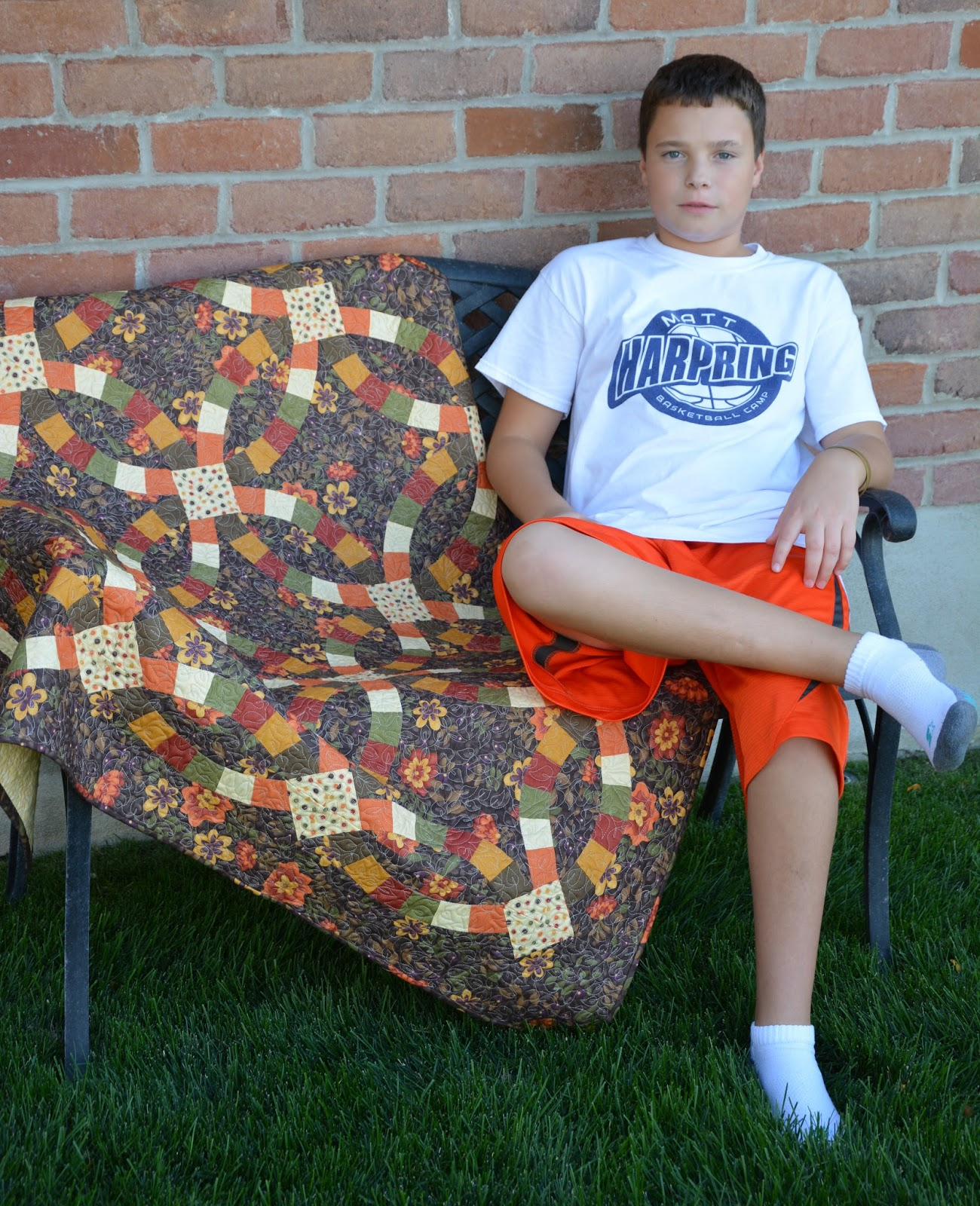 Double Wedding Ring Quilts For Sale 35 Ideal My son Christopher made